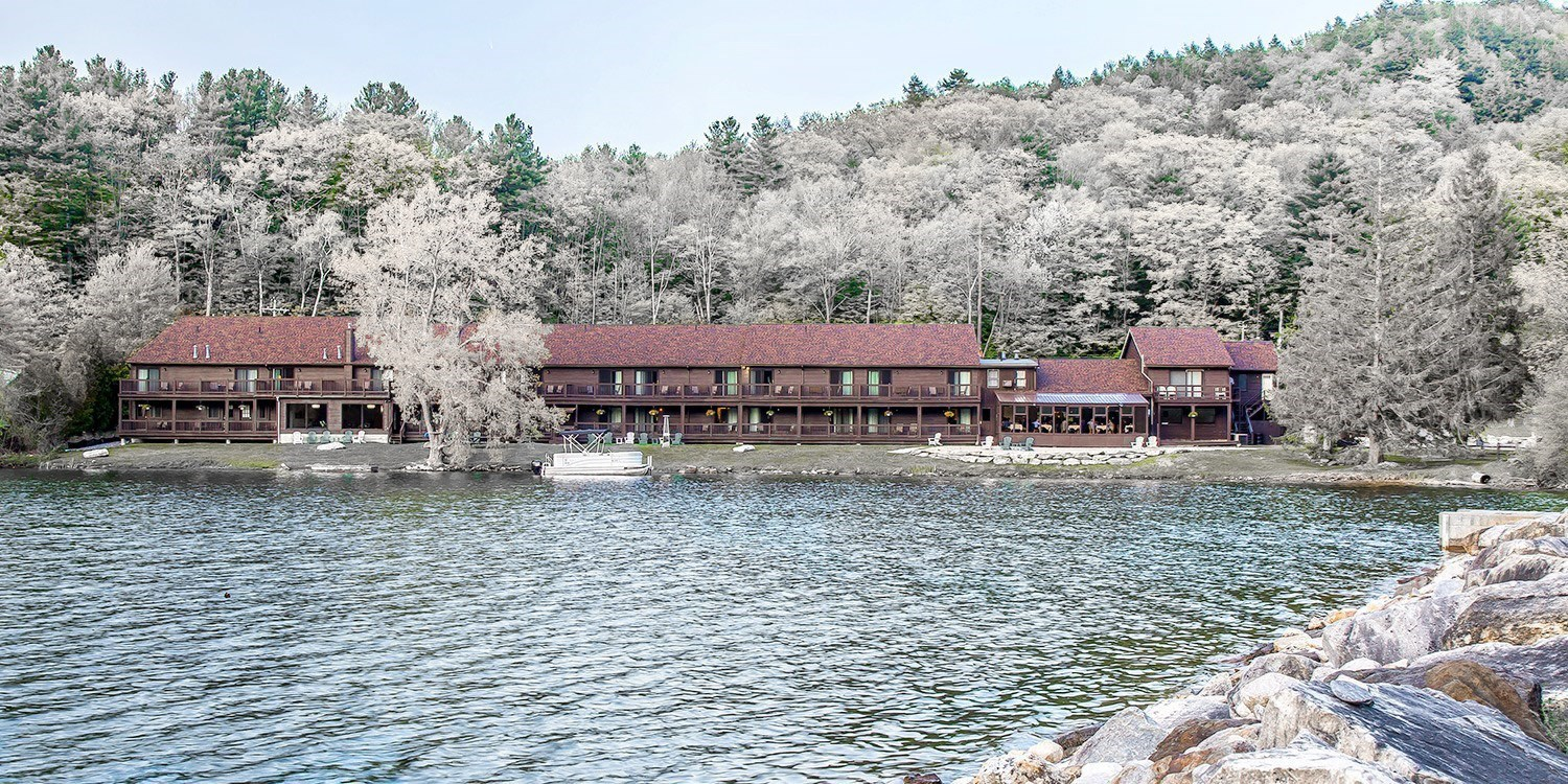 $106-$131 – Berkshires Lakeside Hotel through May, 40% Off -- Lee, MA