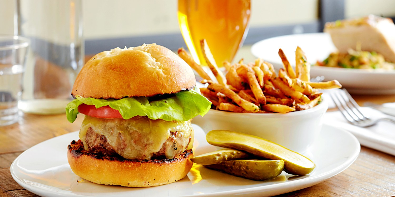Burgers & Sides in Wrigleyville or Streeterville, Save 50%