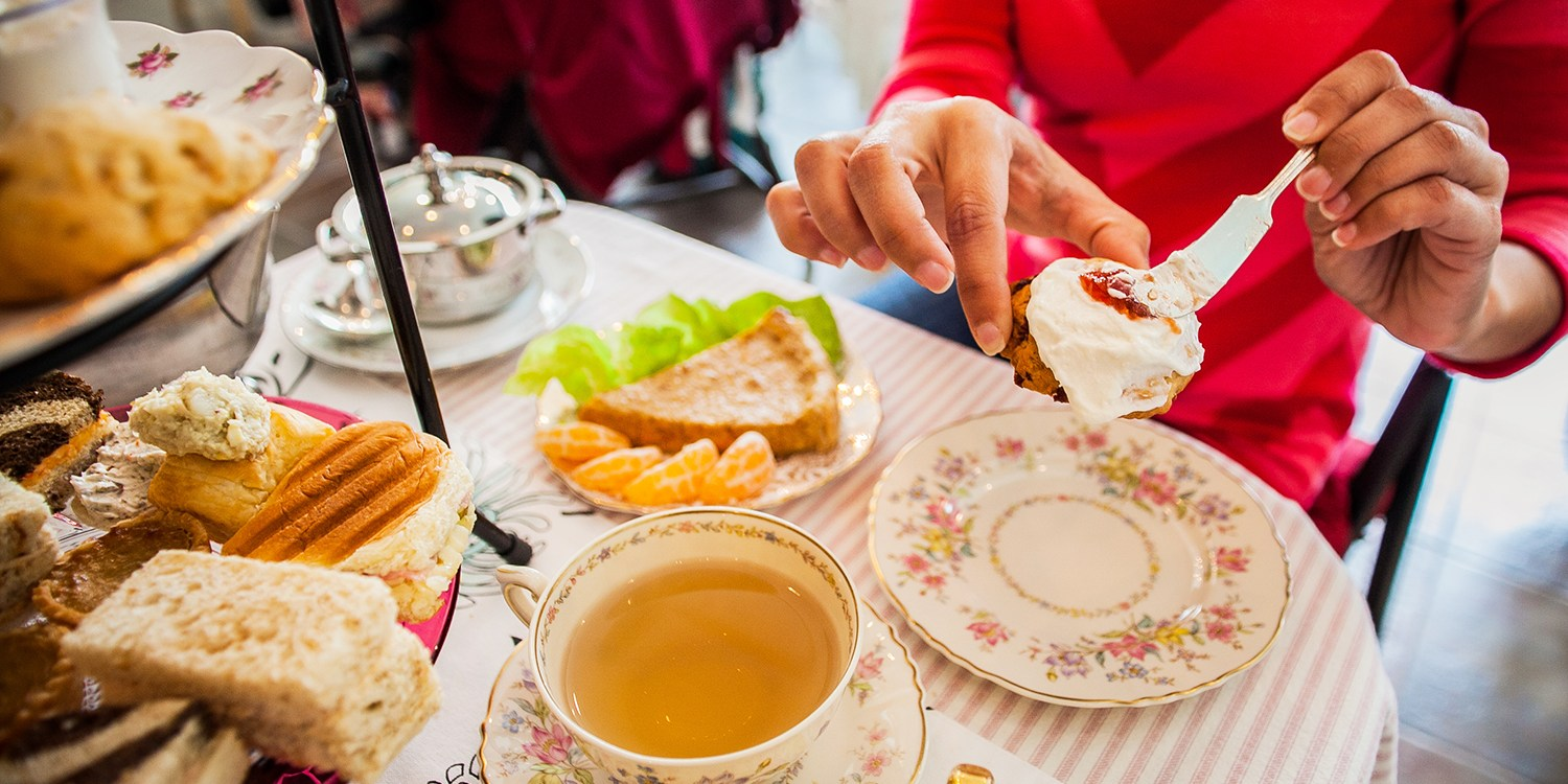 $29 -- Afternoon Tea for 2 at Haute Living Pick