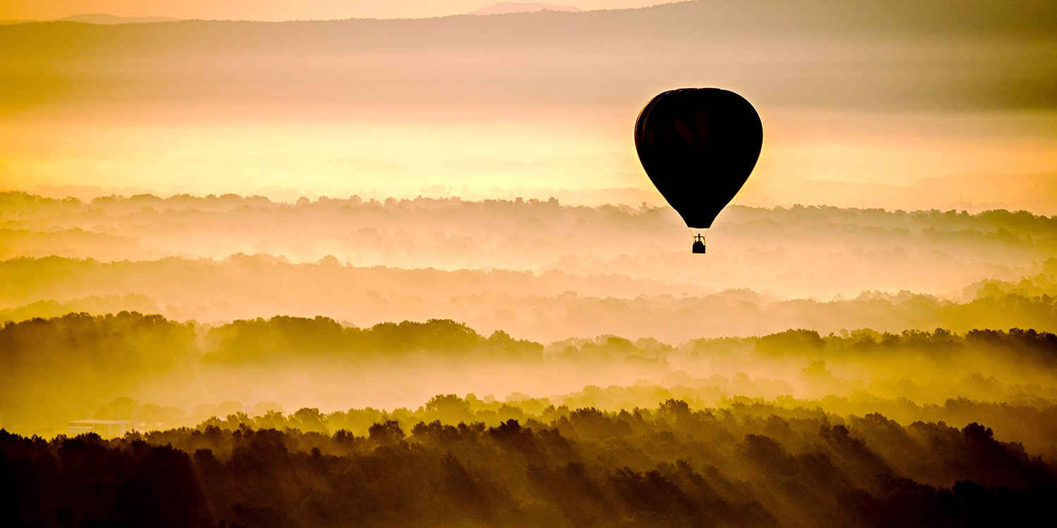 $129 -- Hot Air Balloon Ride over Shenandoah Valley, 40% Off