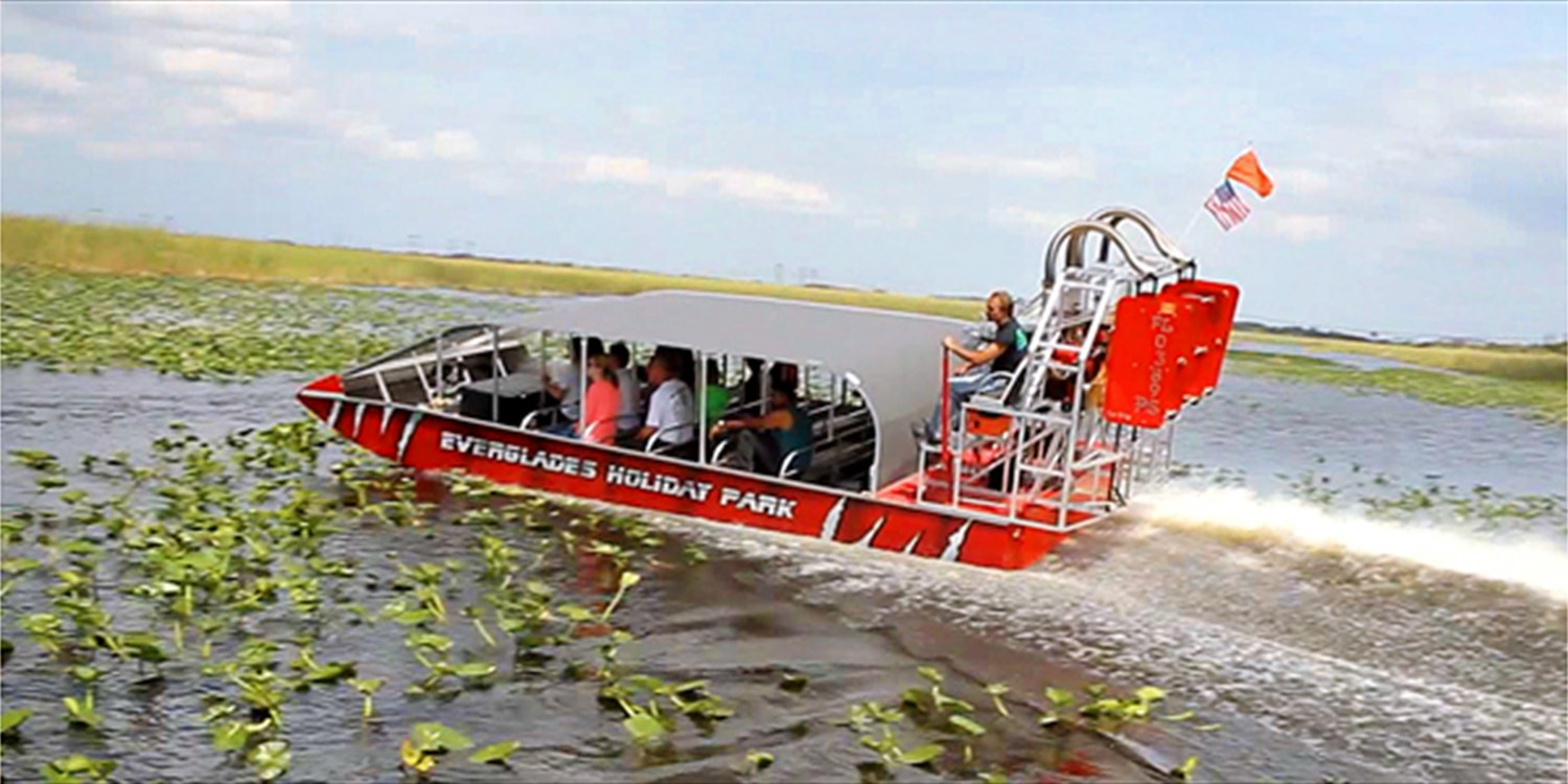 Everglades Holiday Park: Airboat Tour & Alligator Show