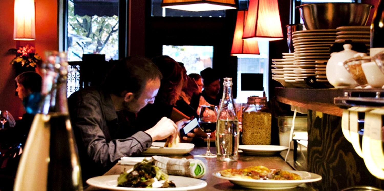$25 -- Half Off Dinner & Drinks for 2 at Branzino