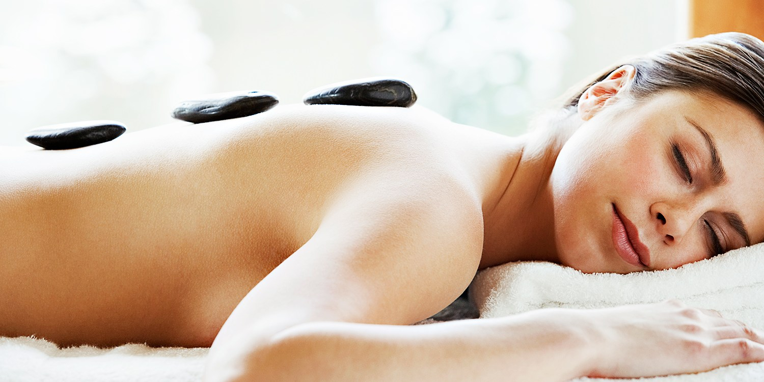 $55 -- Top-Rated Spa: Massage w/Hot-Stone Add-on, Reg. $105