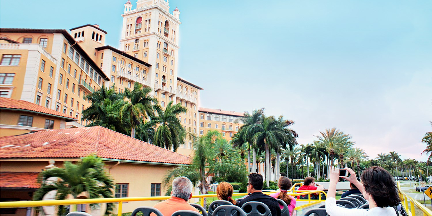$19 -- Double-Decker Bus Tour of Miami, Reg. $39