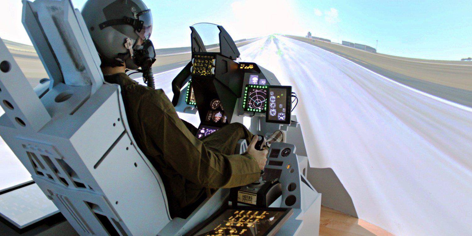 $45 -- F-16 Hands-On Flight Simulator Experience, Reg. $89