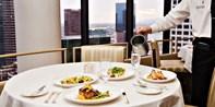 LA Prime: 35th-Floor Steakhouse Dinner for 2 w/Wine, 55% Off