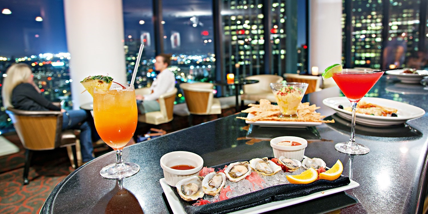 $35 -- Revolving BonaVista Lounge: 34th-Floor Drinks & Apps