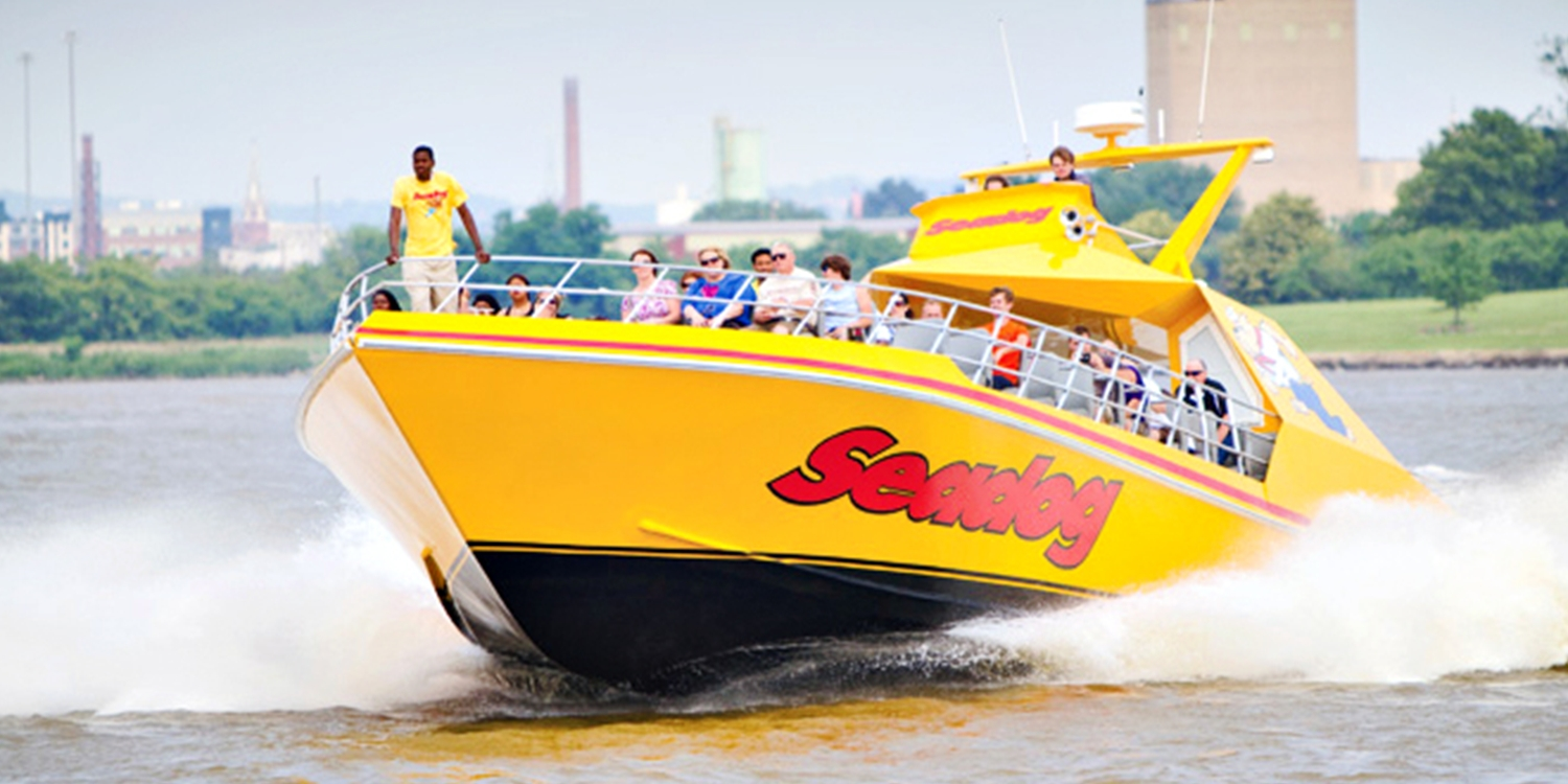 Inner Harbor: Seadog Speed Boat Sightseeing Tour, Half Off