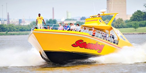 Inner Harbor: Seadog Speed Boat Sightseeing Tour, Save 45%