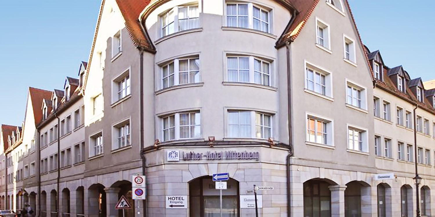 Luther-Hotel Wittenberg -- Wittenberg-West
