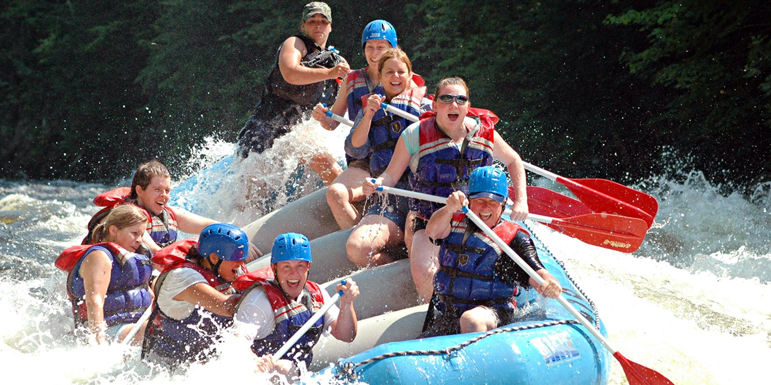 White-Water Rafting on the Kennebec through Summer w/Lunch