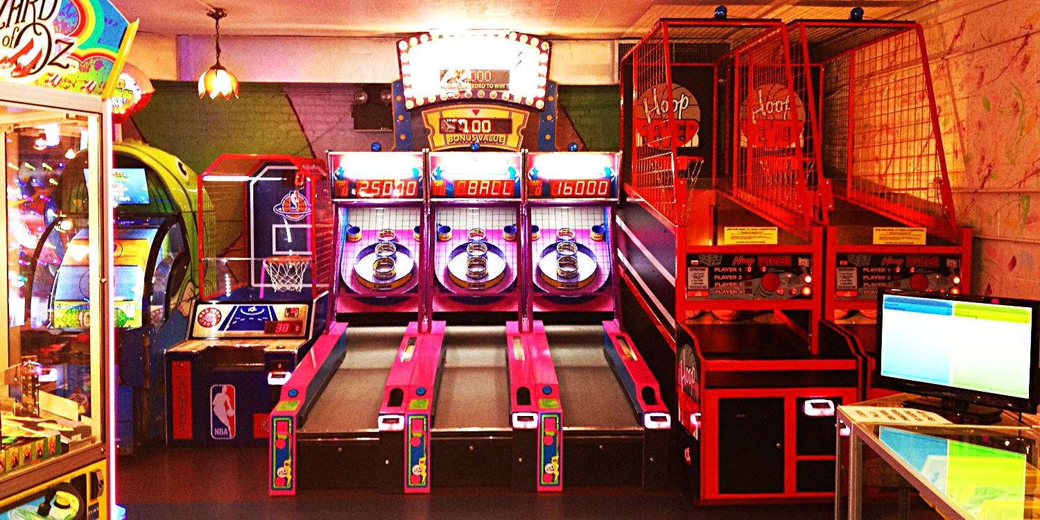 $15 -- Chinatown Fair: Classic Arcade Games, Half Off