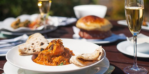 £55 -- Top-Rated Indian: Tasting-Menu Meal for 2 inc Bubbly