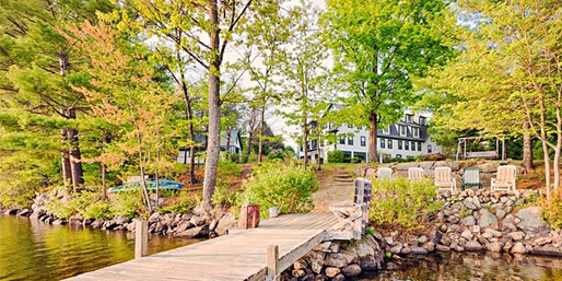 $139 -- New Hampshire: Lakefront B&B Retreat into Spring