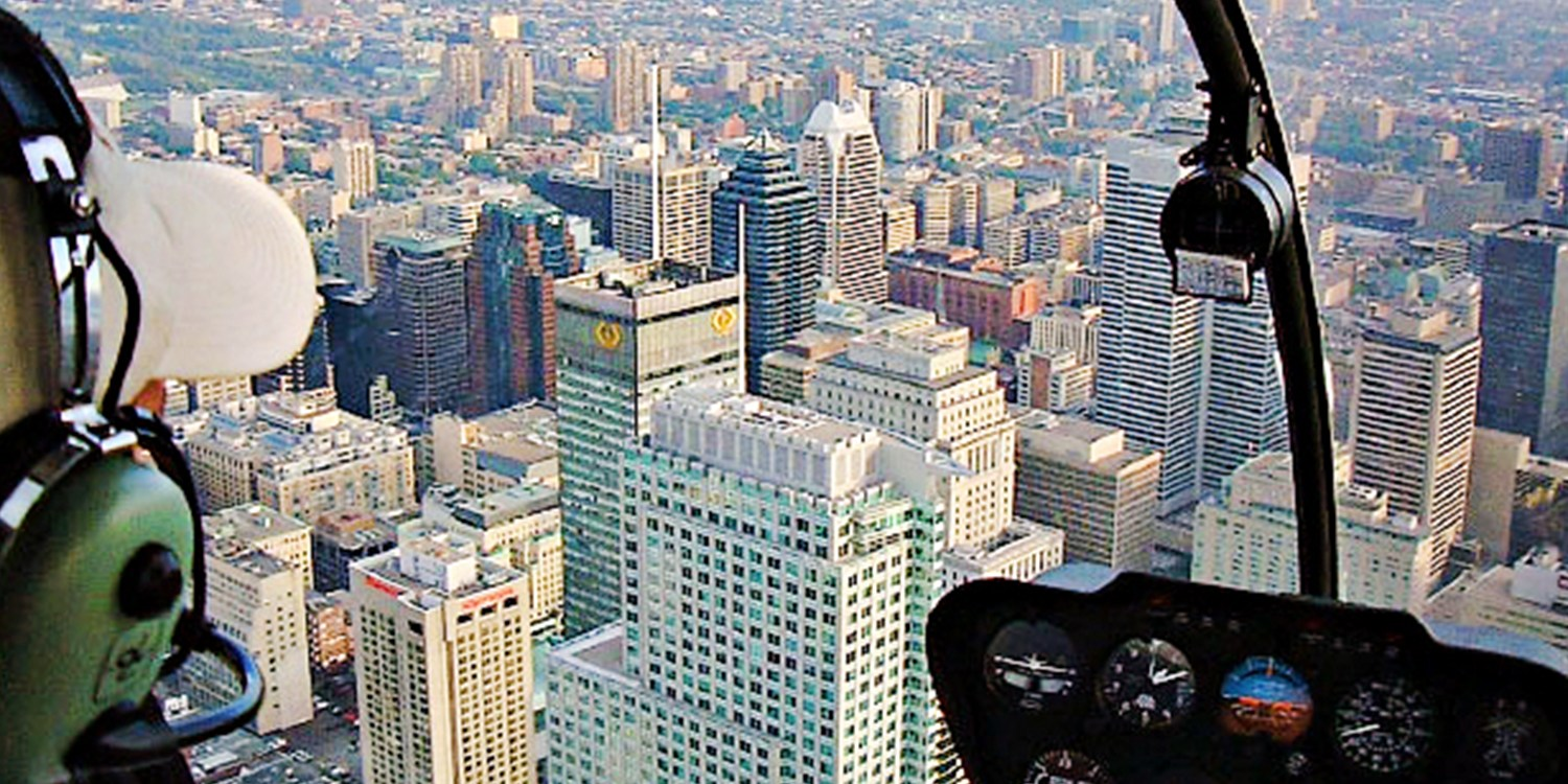 $99 -- Weekend Helicopter Tour over Montreal, Reg. $299