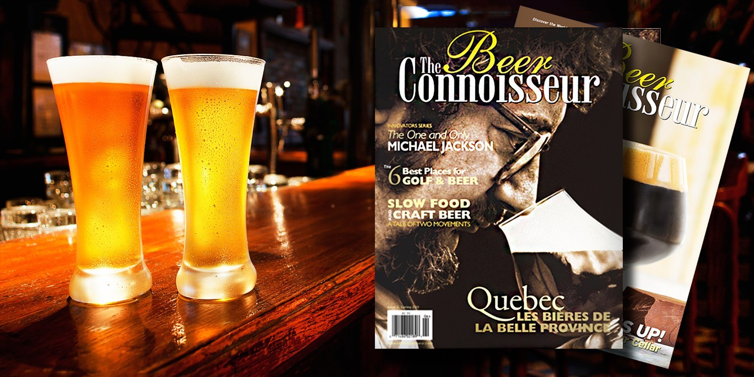 $10 -- The Beer Connoisseur: Yearly Subscription, 50% Off