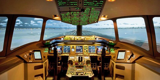 99 € -- 1 Stunde Pilot sein im Flugsimulator bei Stuttgart