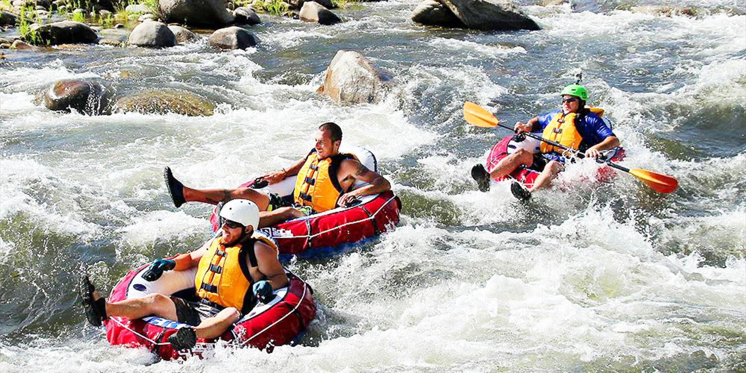 $35 -- Kern River All-Day Tubing w/Zorb Ball, Reg. $68