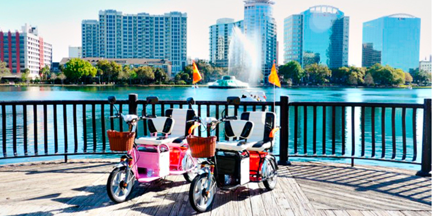 Half Off Electric Scooter Rental in Cocoa Beach