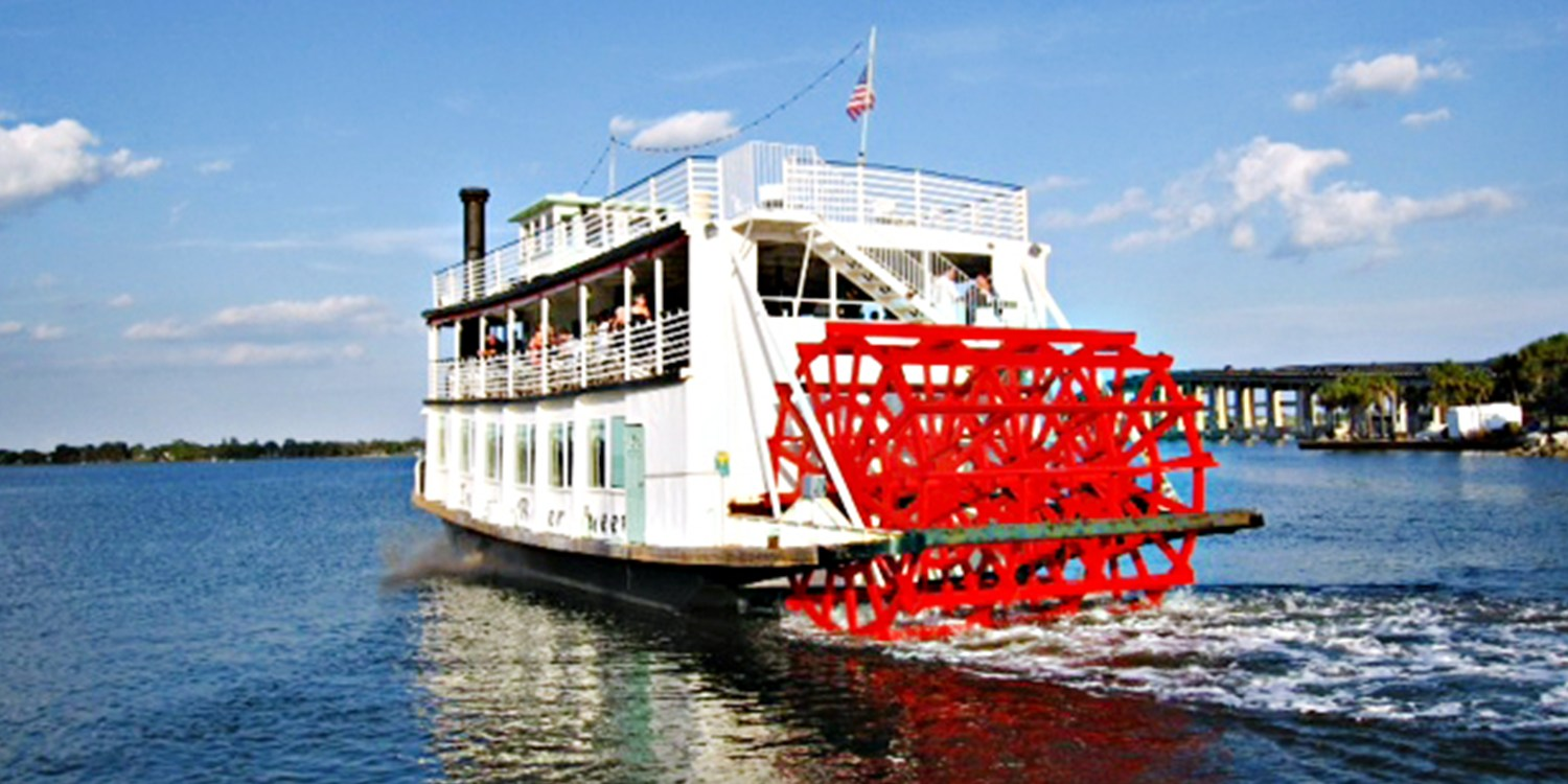 $45 -- Scenic Indian River Boat Cruise for 2, Reg. $70