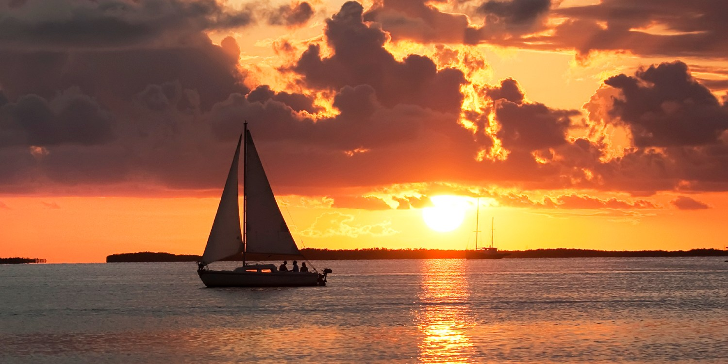 $99 -- Sunset Sailing Cruise for 2 on Geist Reservoir