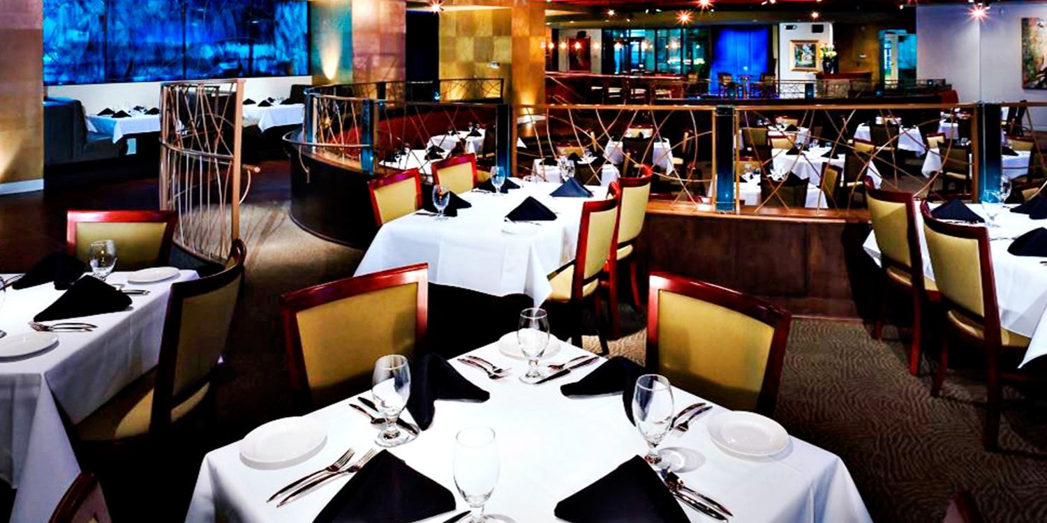 $59 -- 'Unparalleled' Blue Restaurant: Dinner for 2, 45% Off