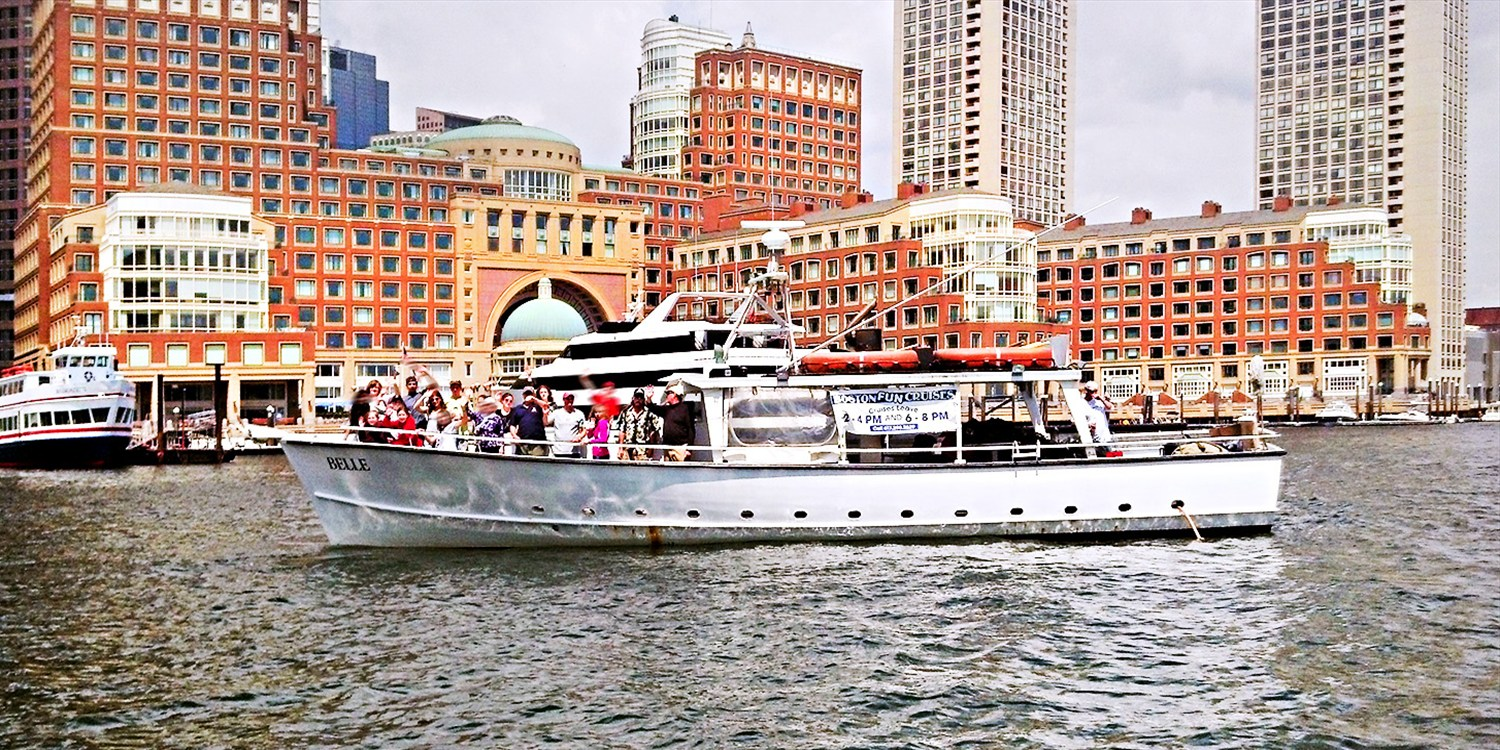Up to 65% Off Boston Harbor Cruises into Fall
