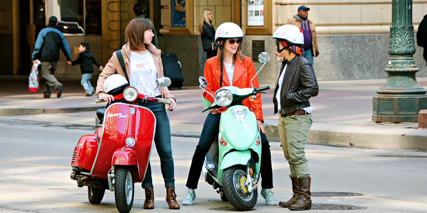 $45 -- Guided Scooter Tours: Downtown or North Side, 50% Off