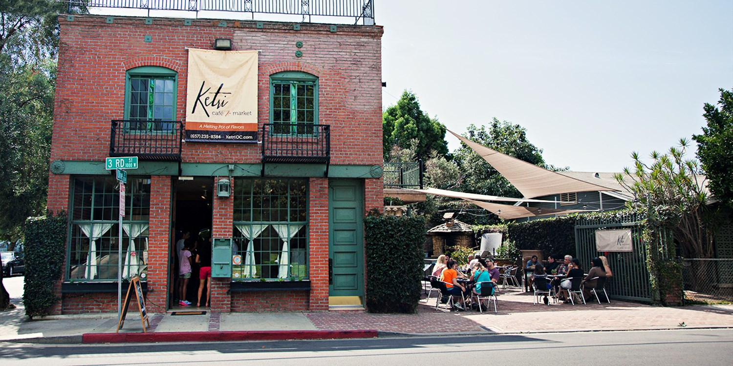 Ketri Cafe: Garden Brunch or Lunch for 2, Half Off