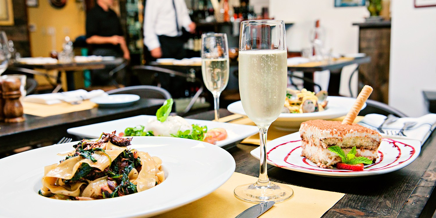 $55 -- Award-Winning Italian for 2 w/Bubbly, Reg. $104