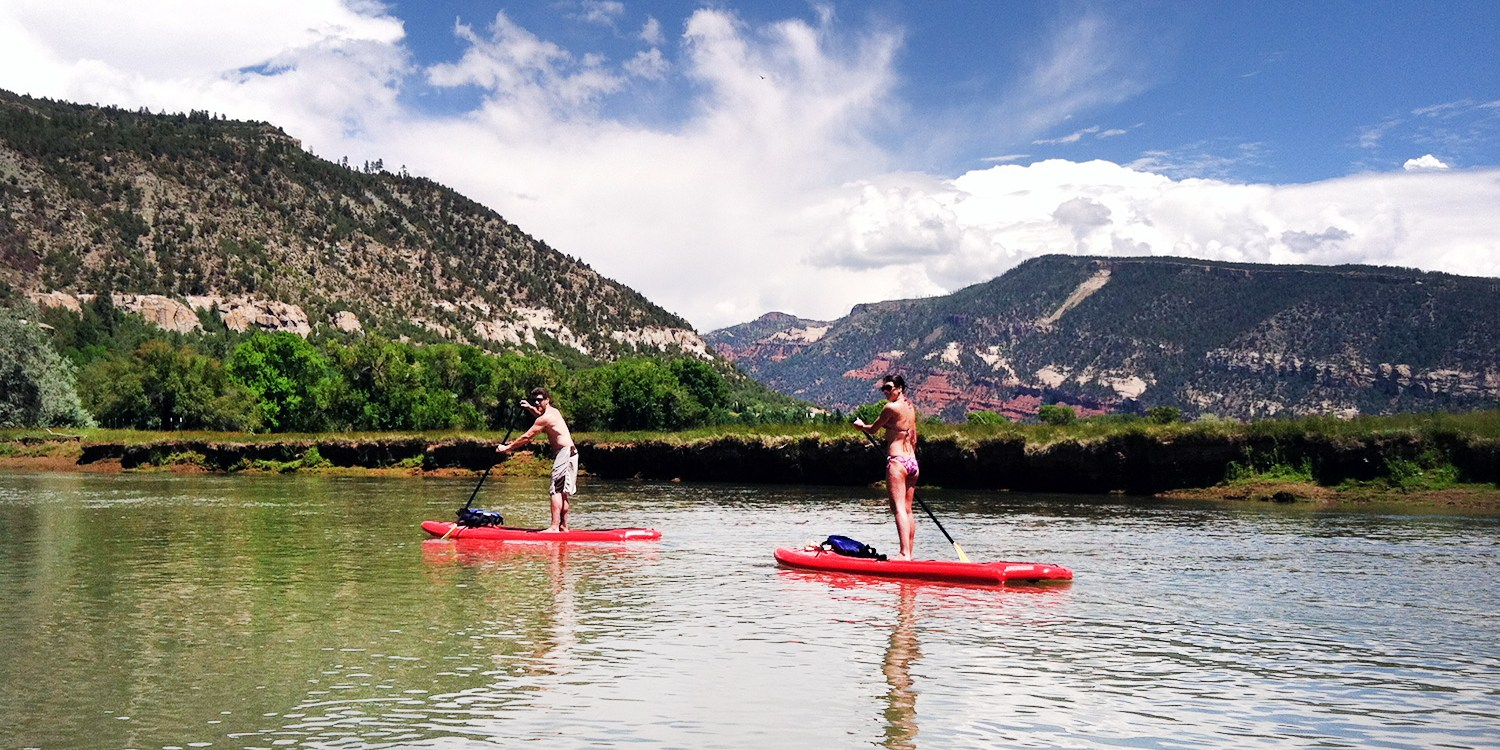$19 & up -- Paddleboard Rental or Lesson on Animas River