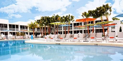 $79 -- B Resort & Spa: Massage, Pool Day & Lunch, 40% Off