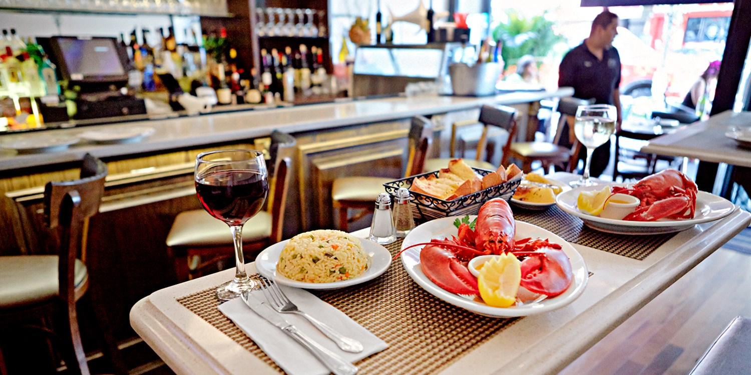 $49 -- Top-Rated Lobster Dinner for 2 w/Wine, Reg. $88