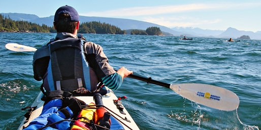 Travelzoo Deal: $600 -- 4-Day Orca-Watching Kayak Adventure, Reg. $953
