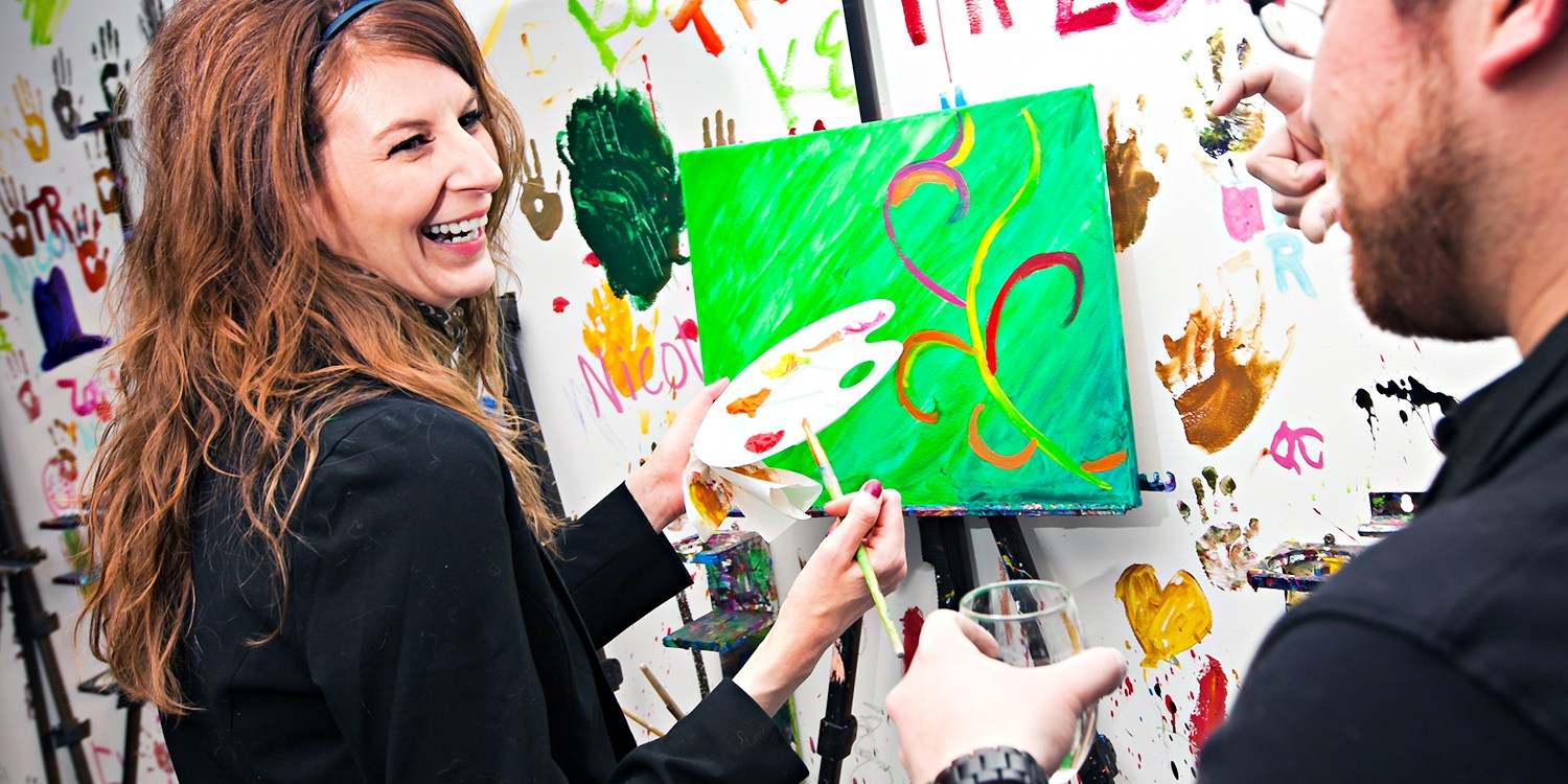ArtJamz Painting Experience w/Drink, up to 48% Off
