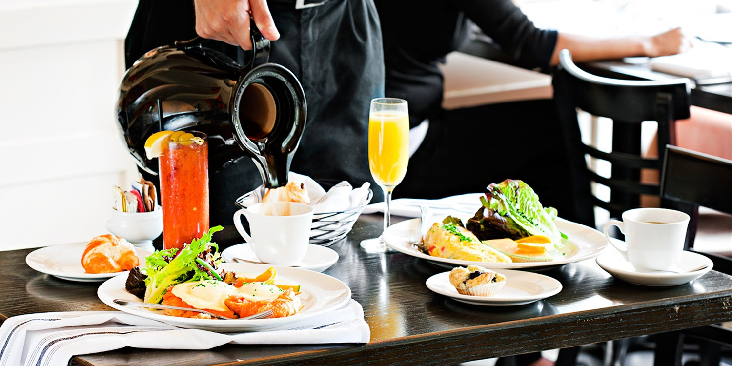 $45 -- Top Chef Brunch w/Bottomless Drinks for 2, Reg. $95