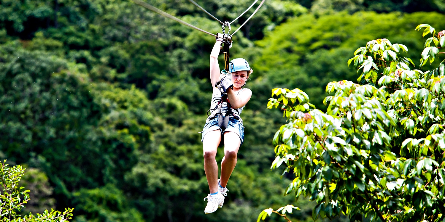 $99 -- Salamander Resort: Tree Top Zip-Line Tour, Reg. $164