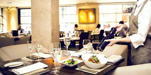 £49 -- Award-Winning Birmingham Italian: Meal & Bubbly for 2