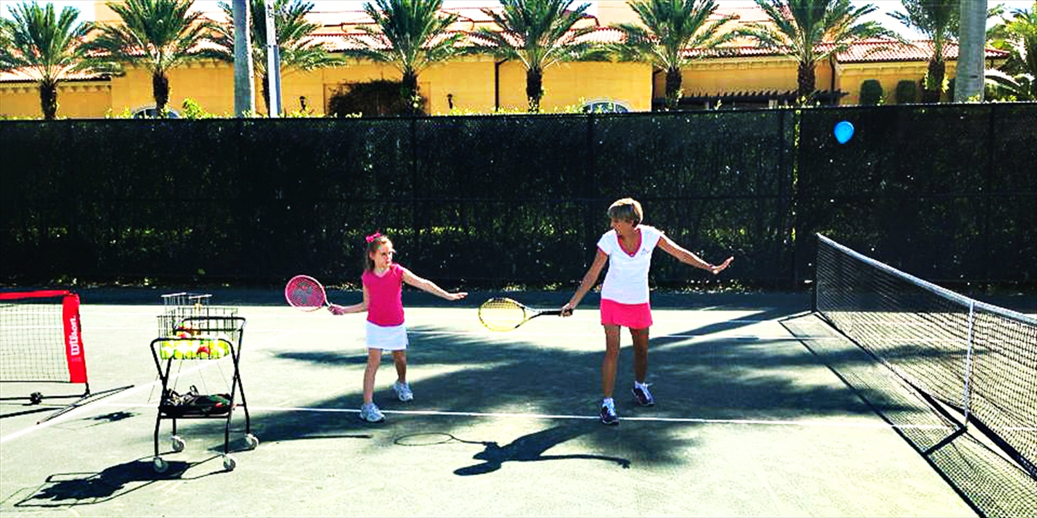$99 -- Eau Palm Beach: Tennis Lessons thru Fall, Save $220