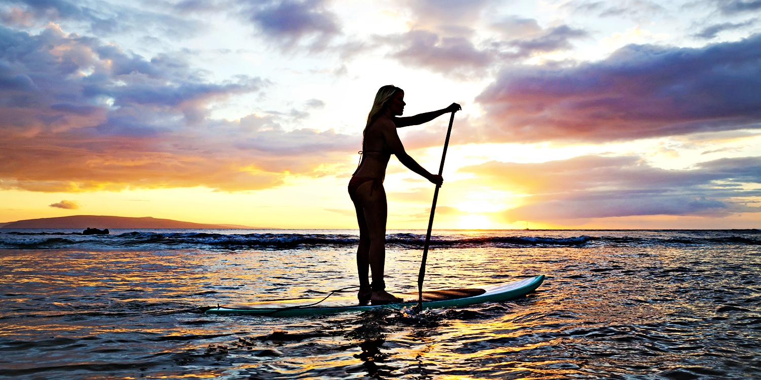 $35 -- Half Off Sunset Stand-Up Paddleboard Tour for 2