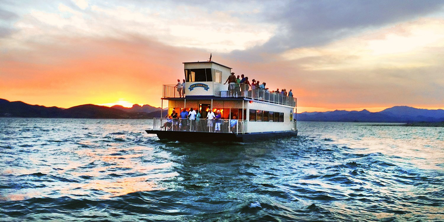 $21 -- Lake Pleasant Sightseeing Cruise for 2, Reg. $42