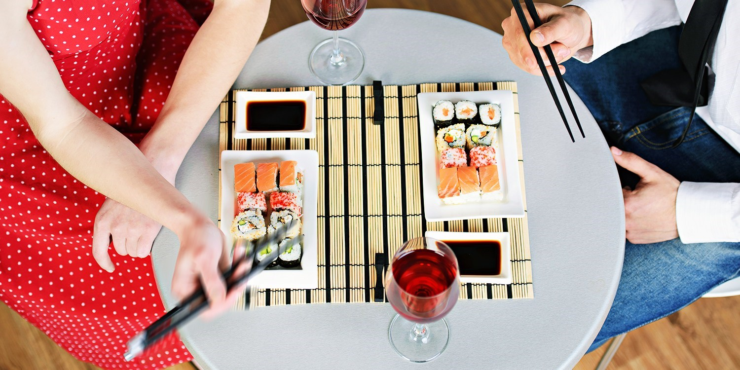 Half Off Sushi & Drinks Downtown