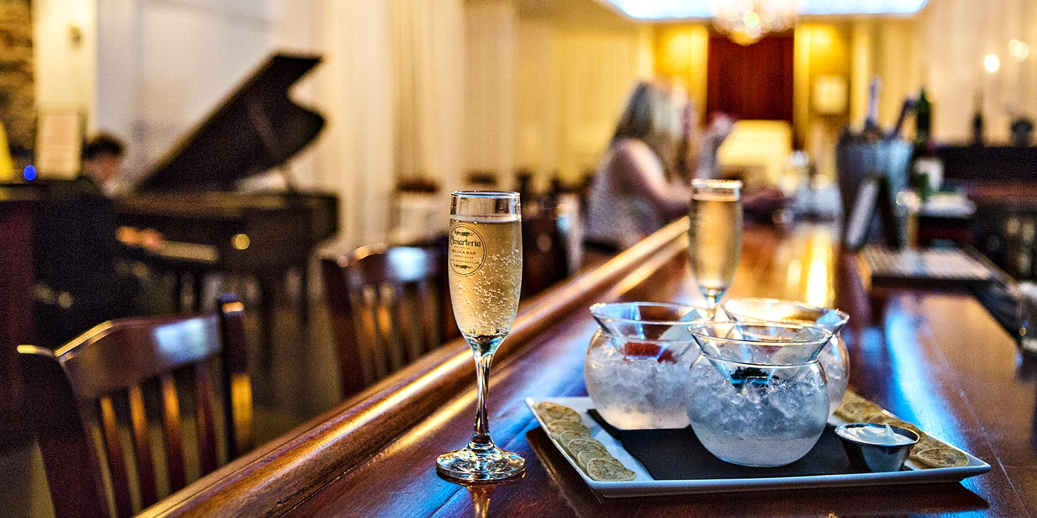 $79 -- Tribeca: Champagne Cocktails & Caviar, 35% Off