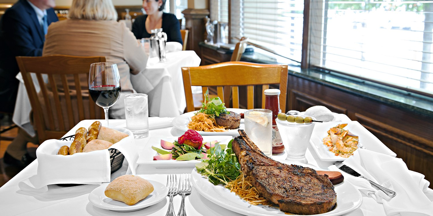 $89 -- Bobby Van's Steak Dinner & Wine for 2, Reg. $148