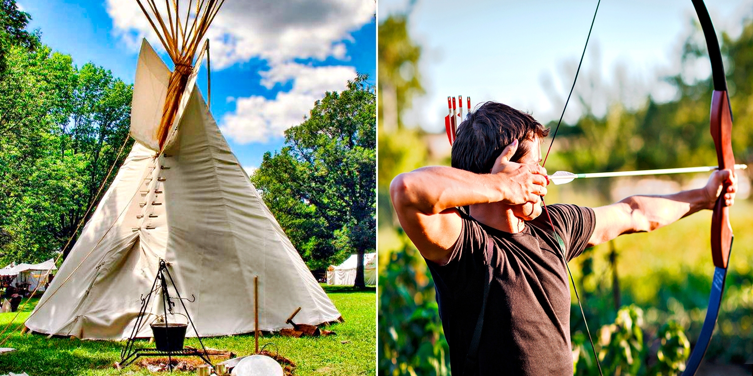 $249 -- B.C. Wilderness 2-Nt. Tipi Stay w/$100 Resort Credit