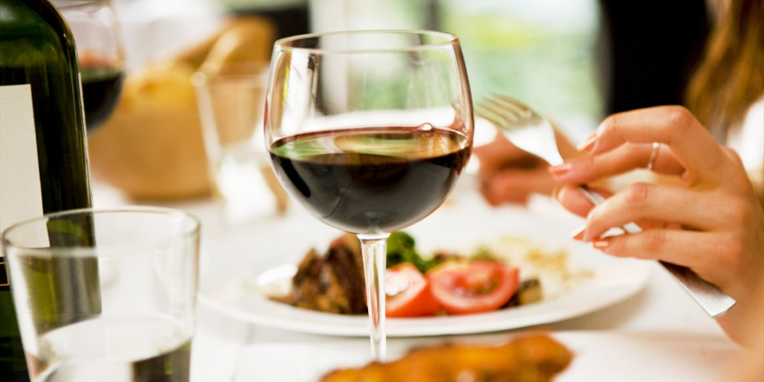 $20 -- Half Off Wine & Apps or Dinner at Vineyard Roz