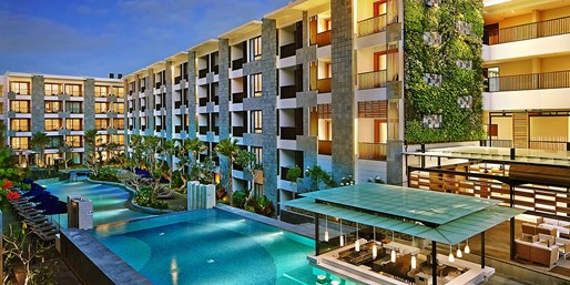 Travelzoo Deal: $389 -- Bali: 3-Nt. Stylish Marriott Seminyak Stay, 40% Off