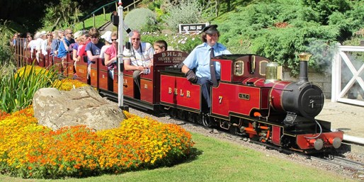 £9 -- 2 Tickets to Railway-Themed Pleasure Gardens w/Rides