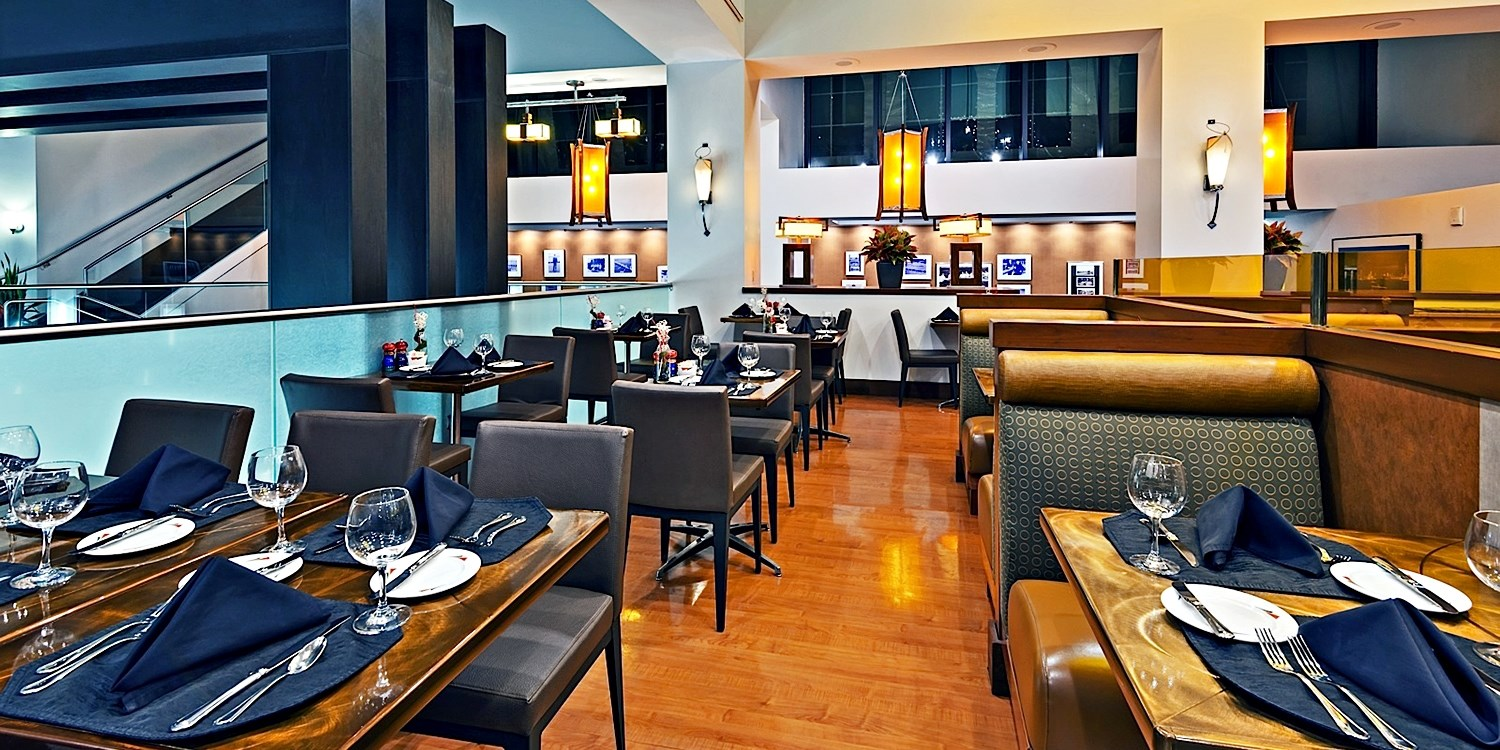 $49 -- Steak or Seafood Dinner for 2 Downtown, Reg. $83
