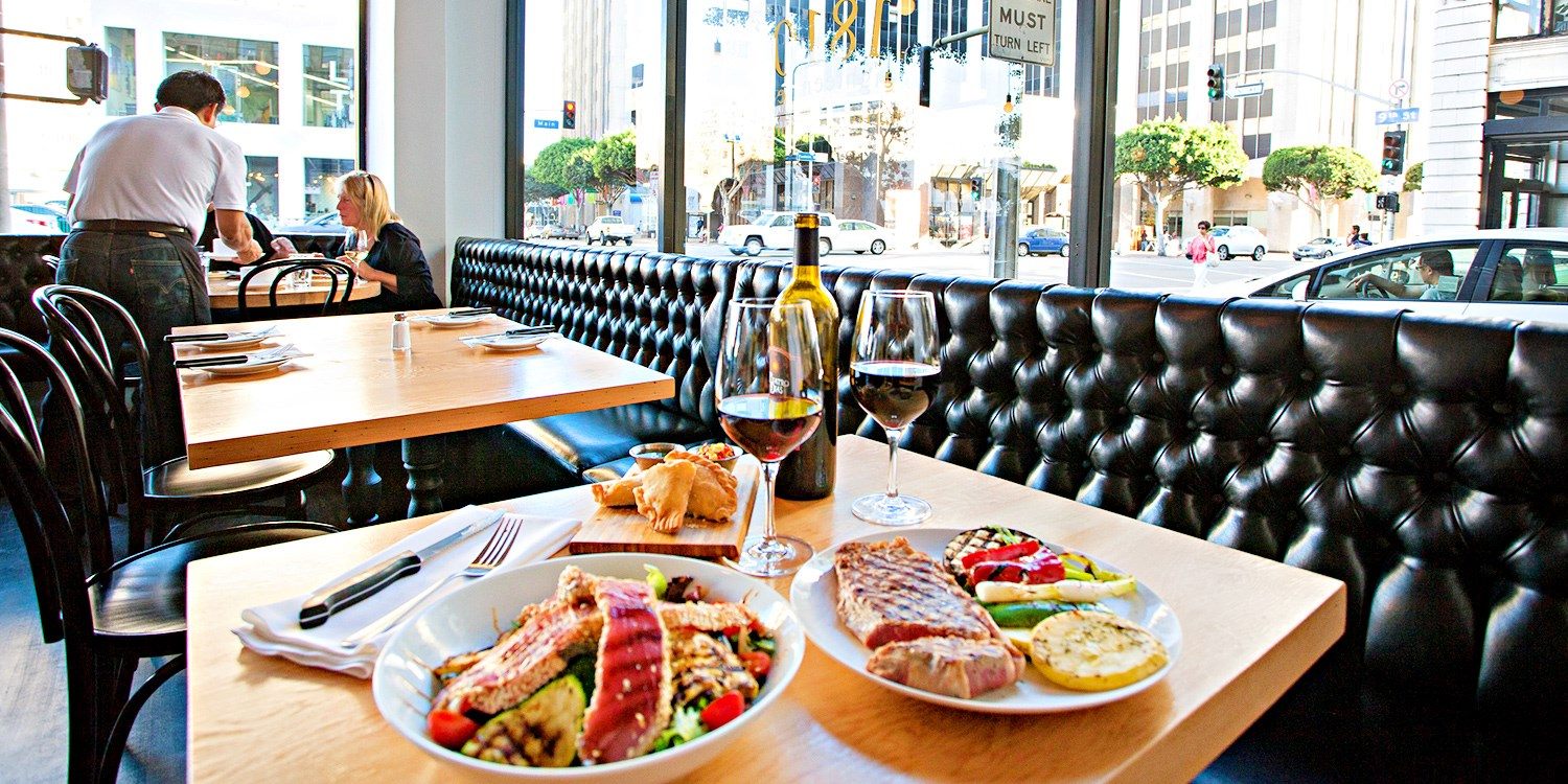 $39 & up -- 1810: Argentinean Dinner w/Wine Downtown